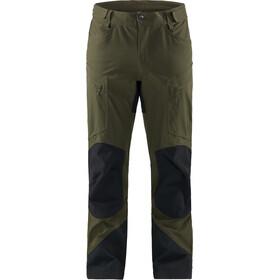 Haglöfs Rugged Mountain Miehet Pitkät housut , musta/oliivi